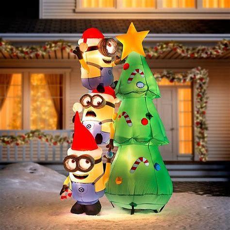 minion  christmas decorations