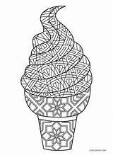 Ice Cream Coloring Pages Printable Print Cool2bkids Bowl Template sketch template