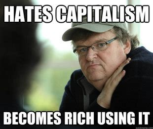 Michael Moore Memes - michael moore admits on cnn live we are ruled by shadow government military industrial complex