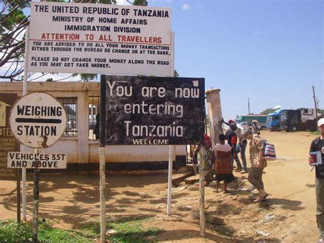 Visto Ingresso Kenya by Visto Per La Tanzania