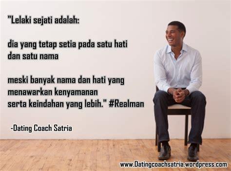 apakah anda lelaki sejati dating coach indonesia