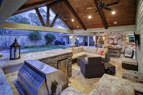 attached garage archives texas custom patios