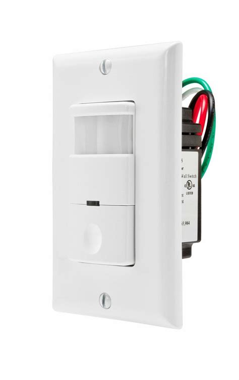 Occupancy Motion Sensor Light Switch Wall Pir Detector