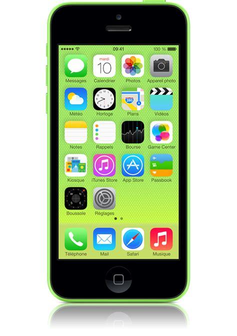 mobile iphone 5c iphone 5c 8go vert avis et prix avec forfait