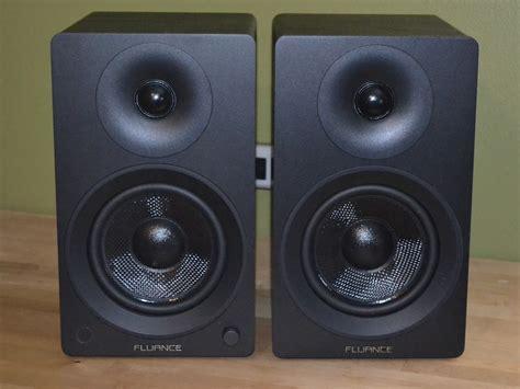 fluance bookshelf speakers fluance ai40 powered bookshelf speakers review best buy