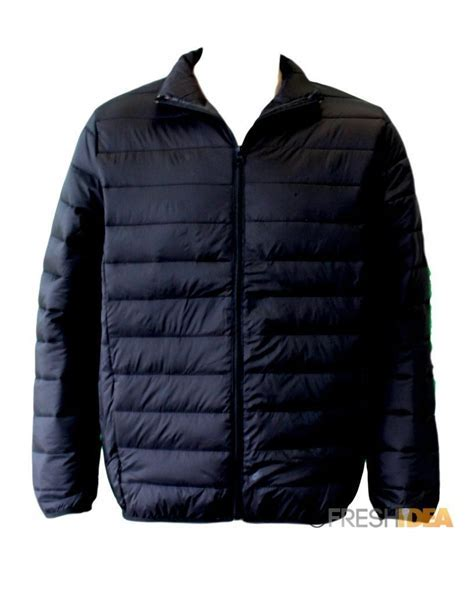 NEW Men's Lightweight Puffy Puffer Jacket Quilted Winter