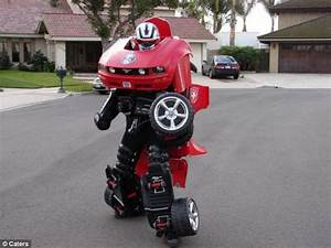 Real-life Transformer reveals 'chicks find it sexy ...