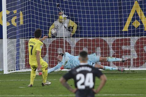 Depleted Real Madrid held 1-1 at Villarreal