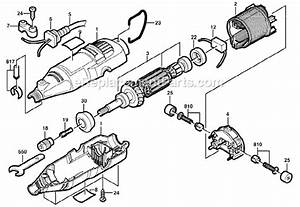 Dremel 285 Parts List And Diagram