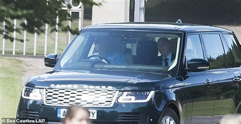 Prince Andrew leaves Royal Lodge in Windsor after Princess ...