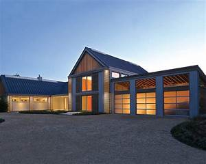 Sagaponack Modern Barn - Modern - Exterior - New York - by