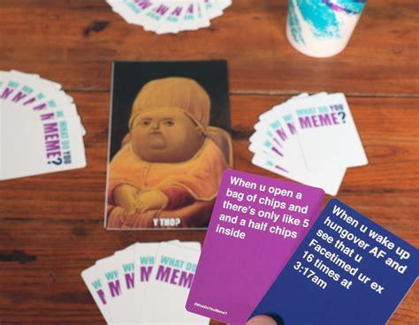 What Do You Meme - what do you meme card game popsugar australia tech