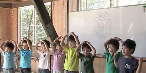 japanese kindergarten class sing dayman