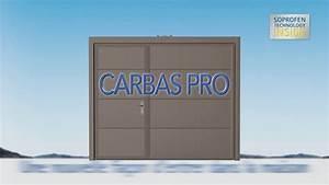 porte de garage basculante carbas pro de soprofen youtube With soprofen porte de garage