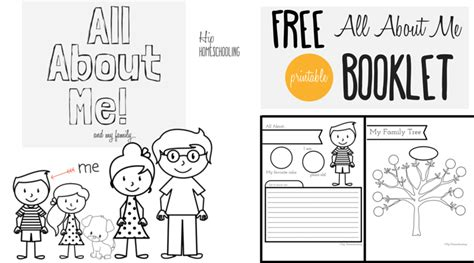 all about me worksheet a printable book for elementary 407 | All About Me Worksheet for Kids Free printable all about me booklet for homeschool kids grades K 3. Perfect for Social Studies and Language Arts 2