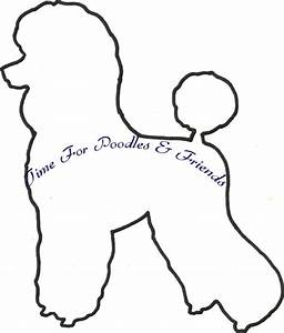 time for poodles and friends free poodle pattern 2 With poodle template printable