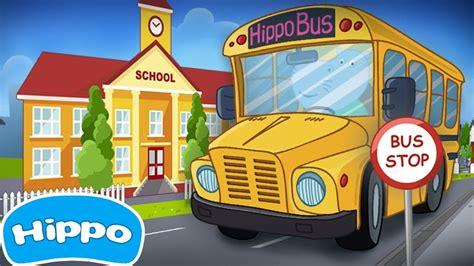 ninos del autobus escolar juego de dibujos animados  los ninos youtube