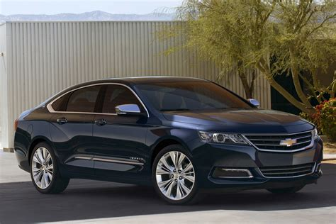 Think Of The 2018 Chevrolet Impala As A Cadillac Xts For