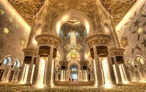 Grand Mosque Sheikh Zayed Abu Dhabi Interior Design Main ...