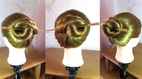 hair sticks styles easy hairstyle with stick 3327
