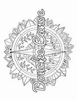Coloring Compass Adult Pages Word Printable Swear Swearstressaway Colorarty Getcolorings Printables sketch template