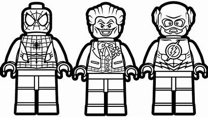 Lego Coloring Pages Marvel
