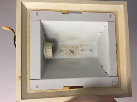 Fasco Bathroom Exhaust Fan Cover by Bathroom Fan Light Doityourself Community Forums