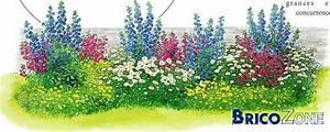 Parterre De Fleur Avec Cailloux : cr ation d 39 un parterre de fleurs vivaces ~ Melissatoandfro.com Idées de Décoration