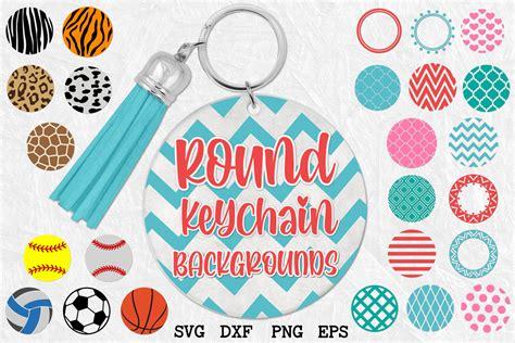 Diy cricut acrylic ornament and keychain. Keychain Round Patterns, Pattern Circles Bundle (519884 ...