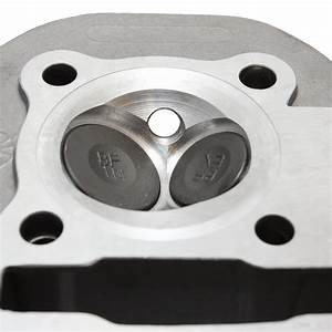 Performance Big Valve Head For Gy6 Scooterworks Usa