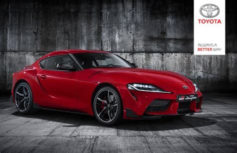 New Toyota Supra Revealed