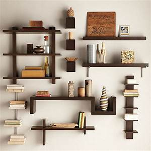 Wall-Mounted Bookcase and Spine Wall Shelf MOTIQ Online