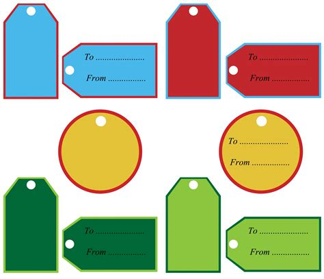 Gift Tags Clipart Free Stock Photo - Public Domain Pictures