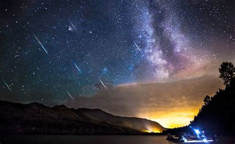 Meteor Showers, Shooting Stars, Comets, And Asteroids