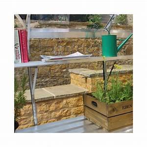 Etagere Pour Serre : tag re en aluminium 180x18cm pour serres birdlip ~ Premium-room.com Idées de Décoration
