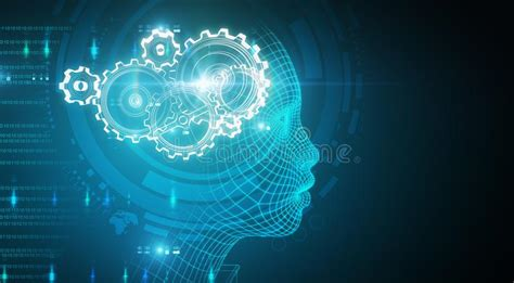 Abstract Wallpaper Artificial Intelligence by Intelligence Wallpaper Stock Illustrations 10 771