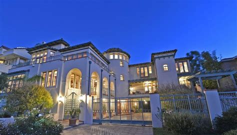 marina home interiors see inside the estate of late billionaire and la lakers