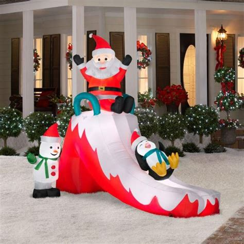 christmas decorations inflatable animated outdoor decorations webnuggetz
