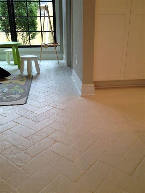 white brick tiles for kitchen 27 best brick floor images on brick flooring 1749
