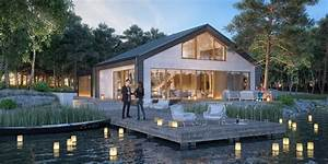 Dom Nad Jeziorem : projekt domu pasywnego nad jeziorem inspiracja homesquare ~ Markanthonyermac.com Haus und Dekorationen