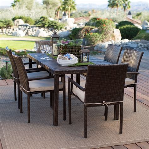 31691 patio dining chairs gorgeous belham living augusta metal and all weather wicker patio