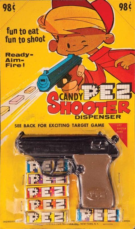 pez candy shooter gun mint  card jul   profiles  history  ca