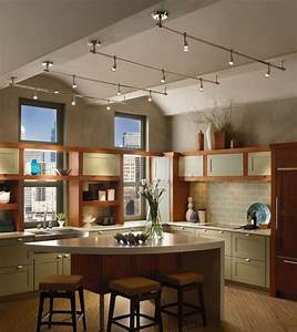 Lighting for kitchen photography : Different types of track lighting fixtures to install