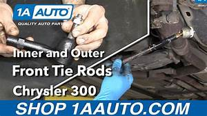 How To Replace Inner  U0026 Outer Tie Rods 05