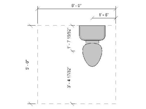 minimum toilet clearance revitcity com object toilet with ada clearances