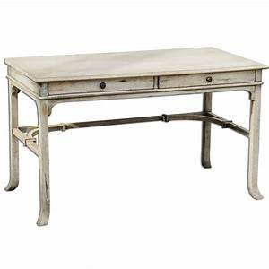 Distressed writing desk