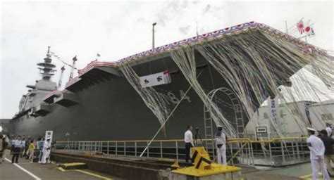 Boat Salvage Yard Mobile Al by Japan Launches Newest Izumo Class Helicopter Carrier