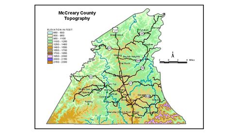 Groundwater Resources of McCreary County, Kentucky