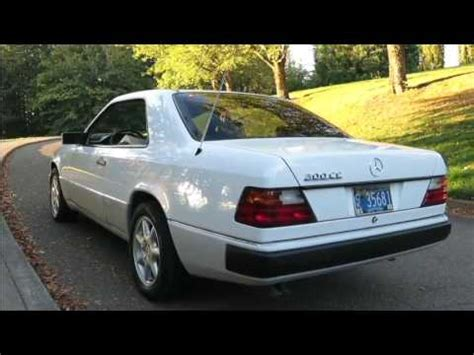 For the first time after. 1991 Mercedes-Benz 300CE - YouTube