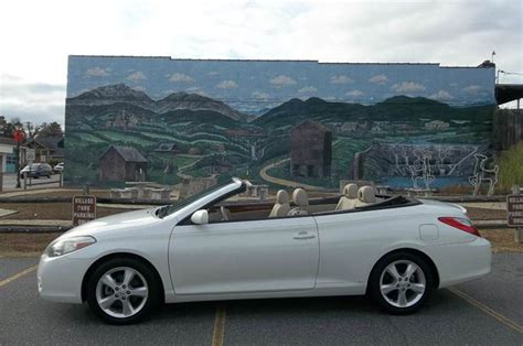 2008 Toyota Solara Convertible by 2008 Toyota Camry Solara Sle V6 2dr Convertible 5a In